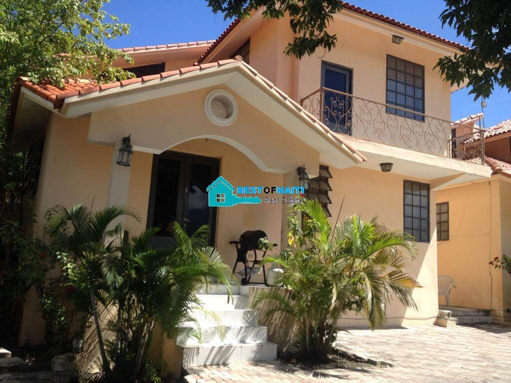 2 Bedrooms, 3 Baths Apartment for Rent in Jacquet, Port-au-Prince, Haiti