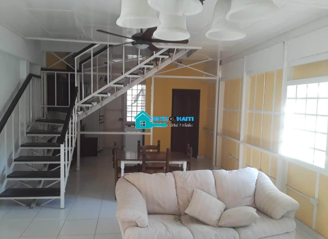 Furnished 2 Baths, 2 Bedrooms Apartment for Rent in Petion Ville, Haiti