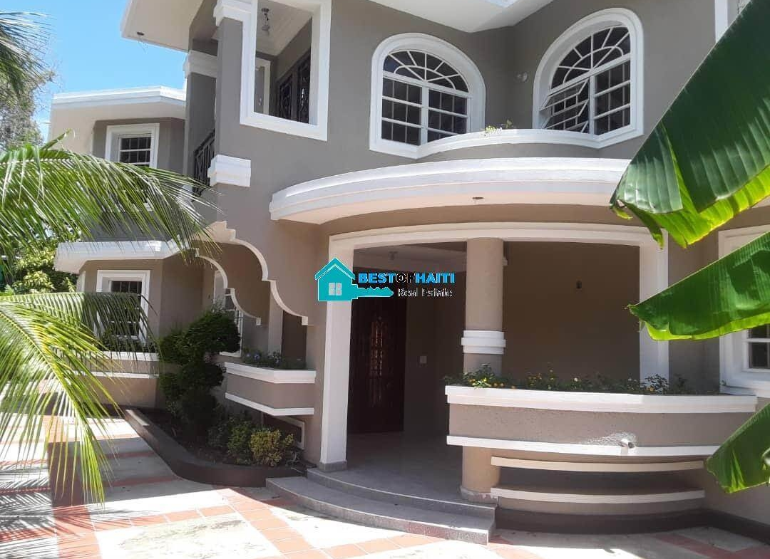 Stylish, 4 Bedrooms, 4 Baths Private House For Rent - Petion Ville, Haiti